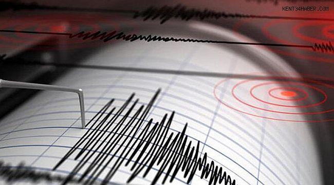 Datça açıklarında deprem!