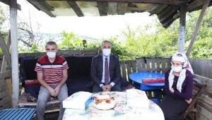 Engelliler Haftası'nda doğum günü olan engelliler unutulmadı
