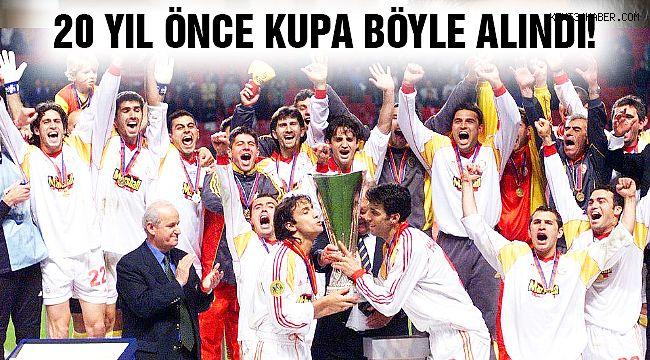 Galatasaray UEFA Kupası'nı Böyle Aldı!