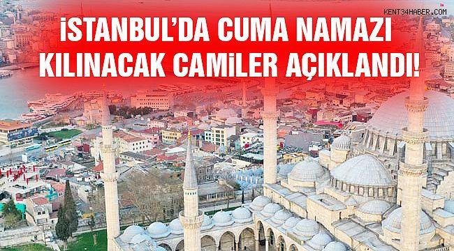 İstanbul'da Yarın Hangi Camiler Açılacak? İlçe İlçe Liste