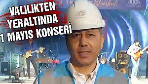 İstanbul Valiliğinden Yeraltında Konser!