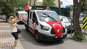 Maltepe sokaklarında 19 Mayıs coşkusu