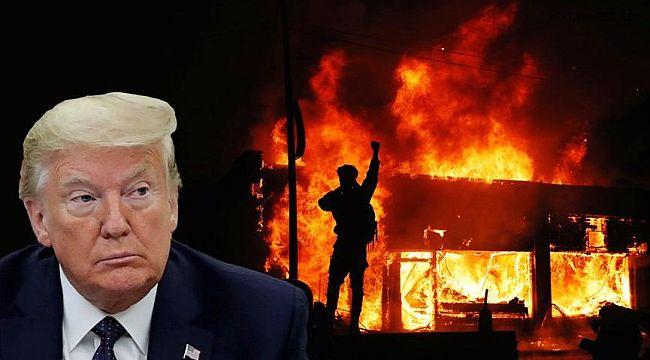 Trump'tan olaylarla ilgili açıklama: Ordumuz hazır!