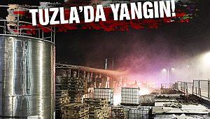 Tuzla'da Korkutan Yangın!