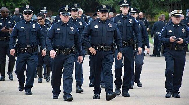 ABD'de polise soğuk duş