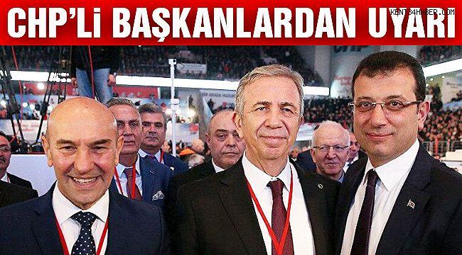 CHP'li Başkanlardan Önemli Açıklama!