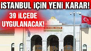 İstanbul'da Koronavirüs Denetimi!