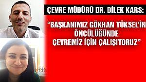 Kartal Belediyesi Çevre Müdürü Dr. Dilek Kars:
