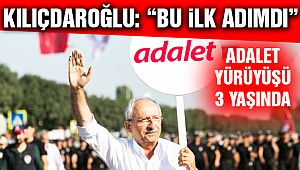 """Kılıçdaroğlu'dan """"Adalet Yürüyüşü"""" Açıklaması"""
