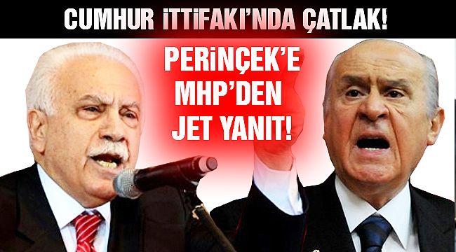 MHP'lilerden Perinçek'e Tepki Yağdı!
