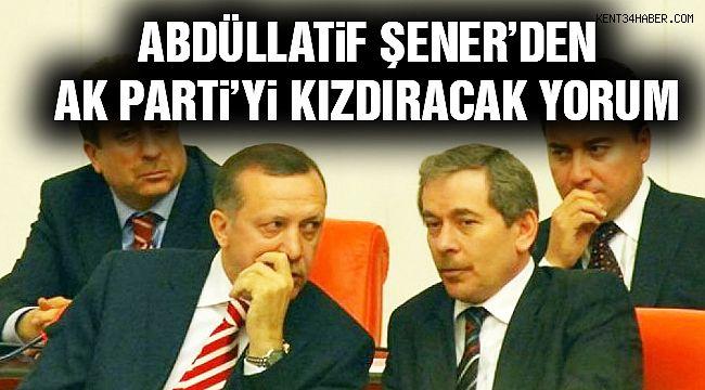 """Abdüllatif Şener: """"AK Parti Oy Kaybedecek!"""""""