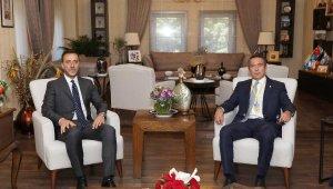 Ali Koç'tan Silivri Belediye Başkanı Yılmaz'a Ziyaret!