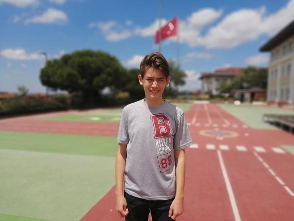 Diyabet hastası Türkiye birincisi Ömer'in Örnek Azmi