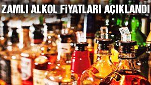 Zamlı Alkol Fiyatları Açıklandı!