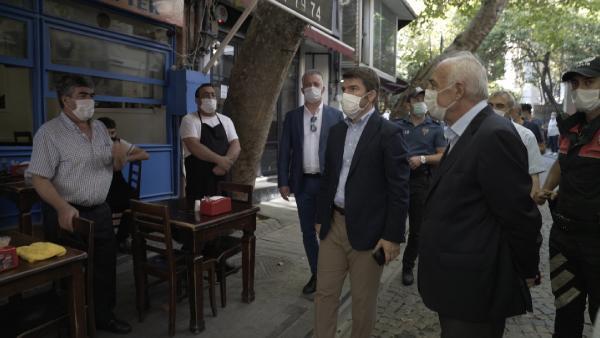Beşiktaş'ta Koronavirüs Denetimi