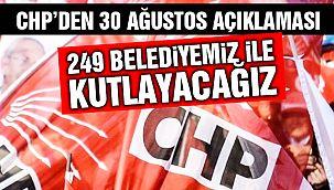 CHP'den 30 Ağustos Kararı!