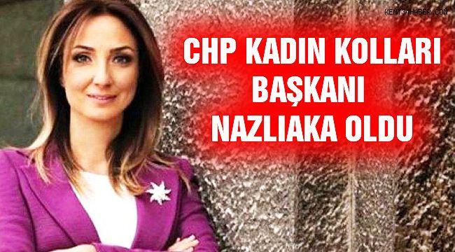 CHP Kadın Kolları Genel Başkanı Aylin Nazlıaka Oldu