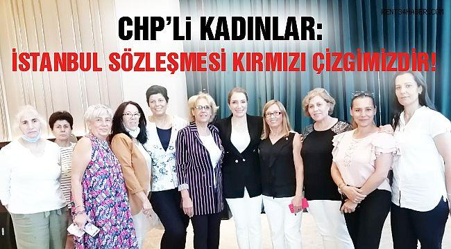 CHP'li Kadınlardan Eş Zamanlı Basın Açıklaması!