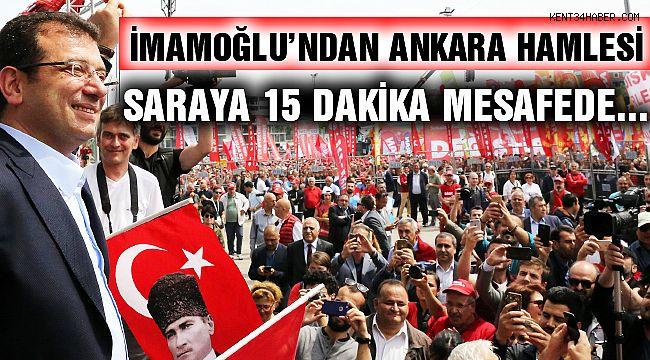 İmamoğlu'nun Gündeme Bomba Gibi Düşen Ankara Hamlesi!