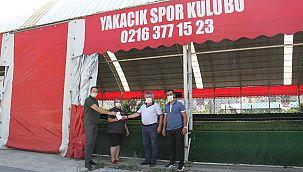 Kartal Belediyesi'nden Spor Kulüplerine Kızılötesi Termometre