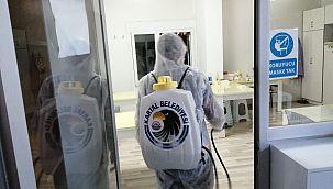 Kartal'da Kreşler Dezenfekte Edildi
