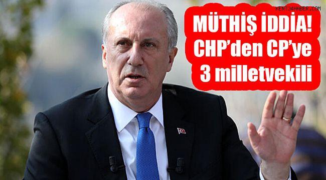 Muharrem İnce'nin CHP'den ilk transferleri belli oldu