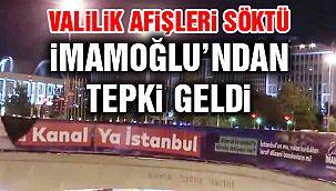 İmamoğlu'ndan İstanbul Valiliğine Tepki!