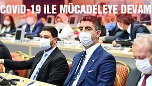 Başkan Gökhan Yüksel, İl Filyasyon Çalışmaları Takip Kurulu Toplantısına Katıldı