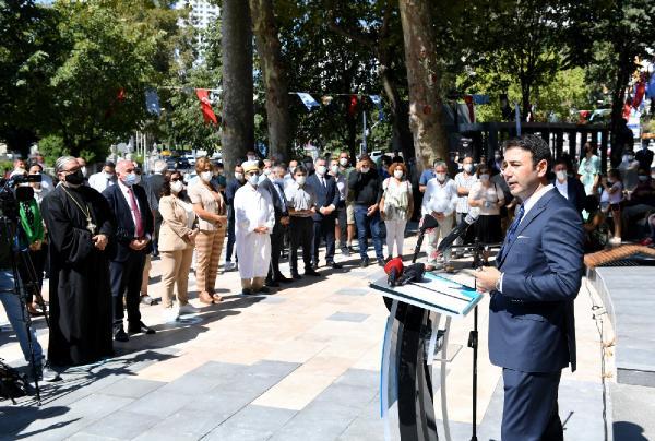 Beşiktaş'ta Yenilenen 'Dünya Barış Parkı' Açıldı