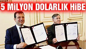 İBB ve USTDA Arasında 5 Milyon Dolarlık Hibe Anlaşması İmzalandı