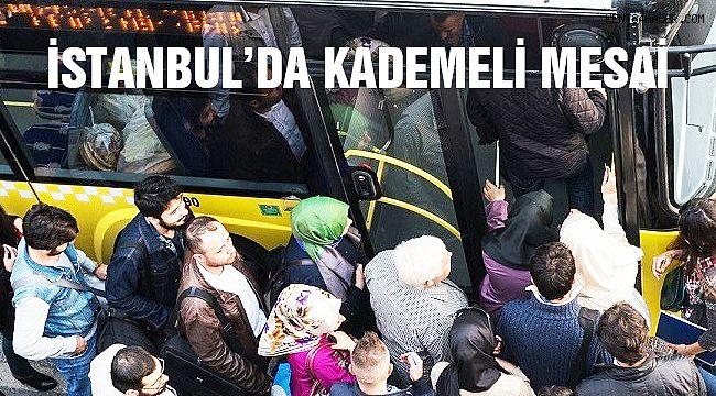 İstanbul'da Kademeli Mesai Dönemi