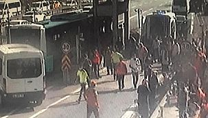 İstanbul'da Otobüs Kazası! 15 Yaralı!