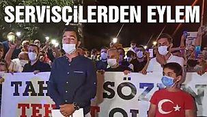 İstanbullu Servisçilerden Eylem!