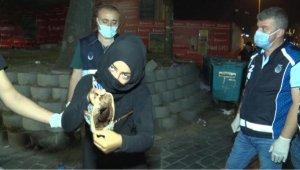 Karaköy'de dilenci operasyonu; cevaplarıyla 'pes' dedirtti
