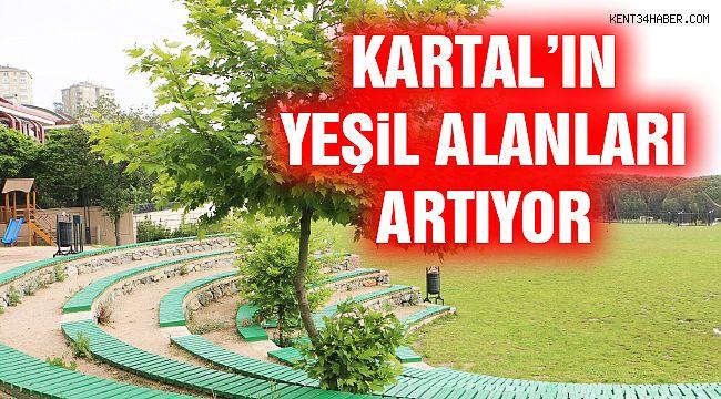 Kartal'ın Yeşil Alanları Artıyor