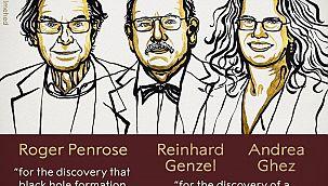 2020 Nobel Fizik Ödülü'nü kazananlar belli oldu