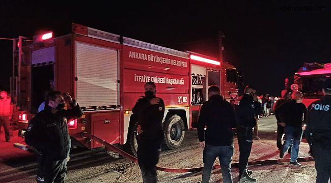 Ankara'da doğalgaz patlaması: Yaralılar var