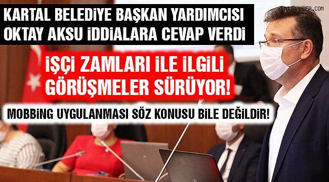 """Başkan Yardımcısı Oktay Aksu: """"İddialar Kabul Edilemez!"""""""