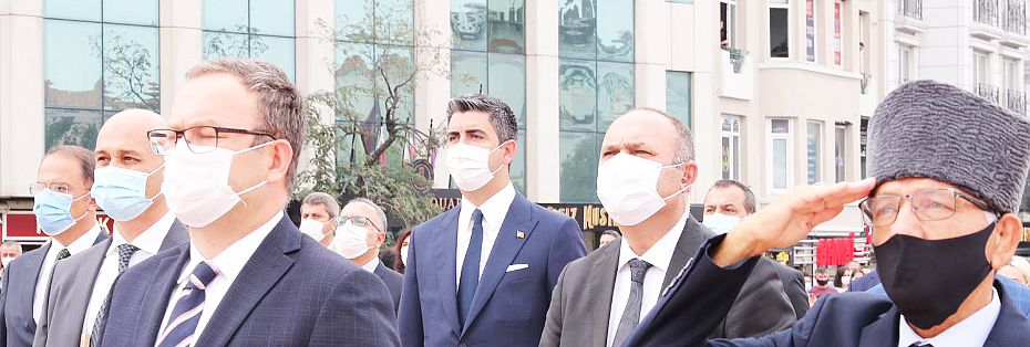 Başkan Yüksel İstanbul'un Kurtuluşu'nun 97. yılı törenine katıldı