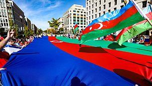 Beyaz Saray önünde Azerbaycan'a destek