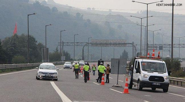 Bolu Dağı Tüneli yeniden trafiğe kapatıldı