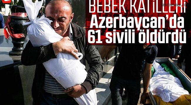 Ermenistan, Azerbaycan'da 61 sivili katletti