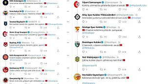 Futbol kulüplerinin sosyal medyadaki İstiklal Marşı zinciri