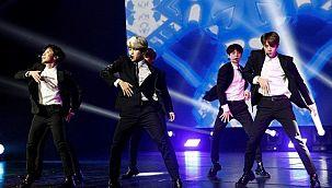 Güney Koreli pop müzik grubu BTS, su markası çıkardı