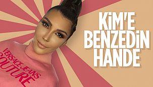 Hande Yener'in yeni imajı Kim'e benzetildi