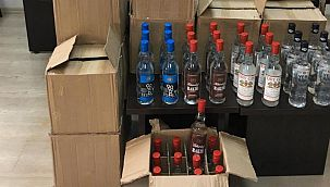 İstanbul'da 4.5 ton sahte içki ele geçirildi