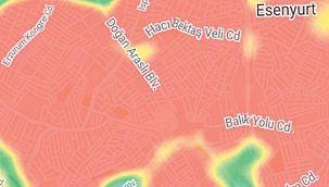İstanbul'da korkutan kırmızılık