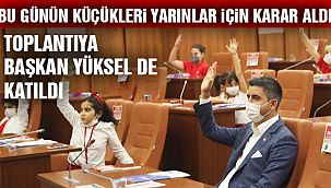 Kartal Belediyesi Çocuk Meclisi'nin İkinci Oturumu Gerçekleştirildi
