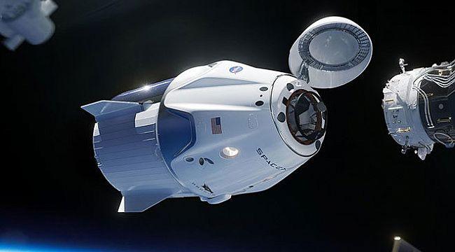 SpaceX'in uzay aracı Crew Dragon ciddi hasar aldı