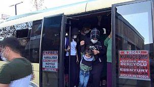 Vaka sayısının hızla arttığı İstanbul'da şok görüntüler